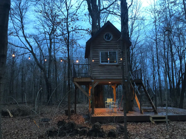 Treehouse Getaway Airbnb