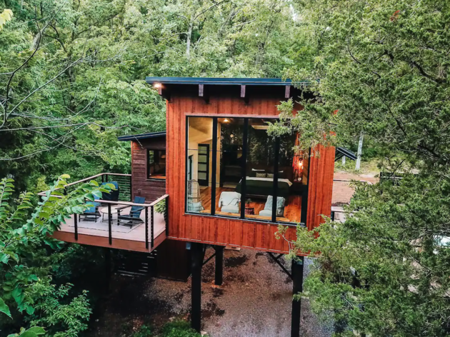 TreeLoft at BaseCamp Airbnb