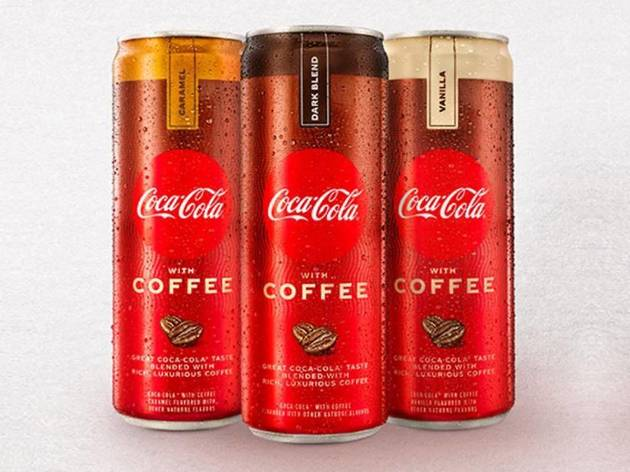 America, brace yourself for the arrival of coffee-flavoured Coke