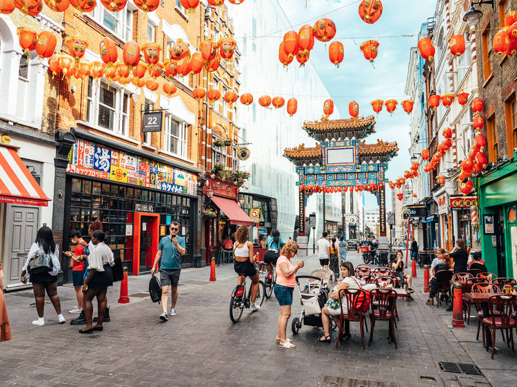 Feast on amazing food in Chinatown