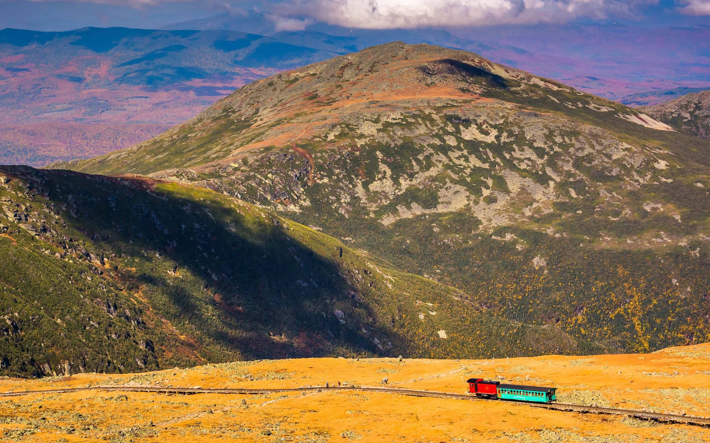The most scenic train rides across the U.S.