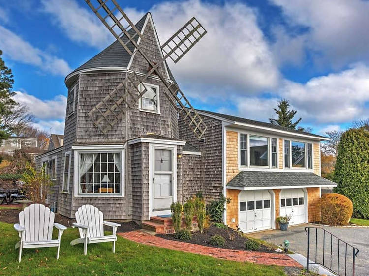 Windmill home in Chatham, MA