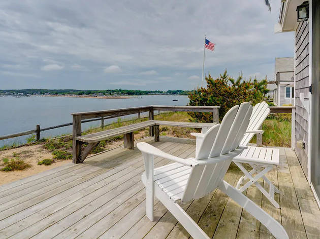 Waterfront home in Wellfleet, MA