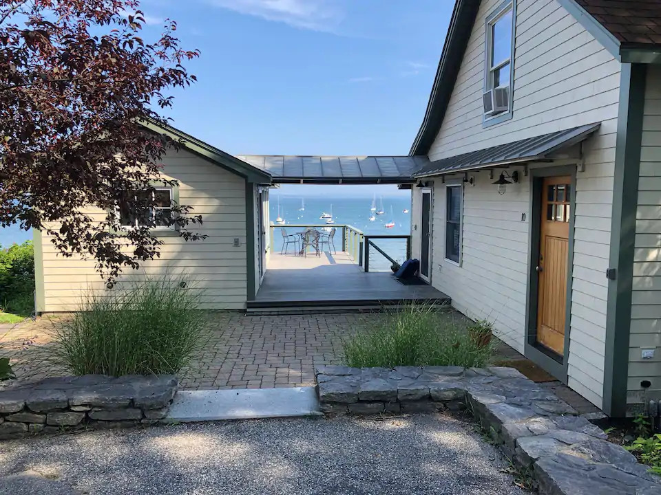 Cottage on Casco Bay in Falmouth, ME
