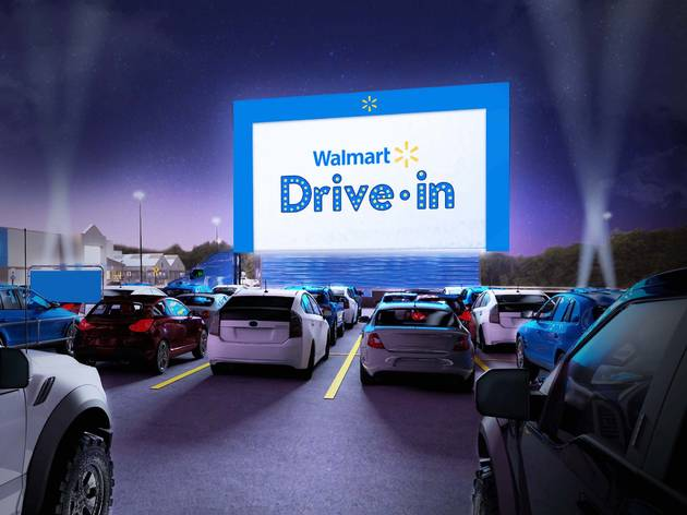 Walmart is bringing a free drive-in movie experience to Miami