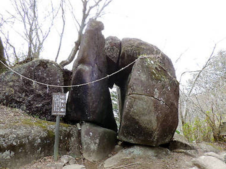 筑波山(877メートル)