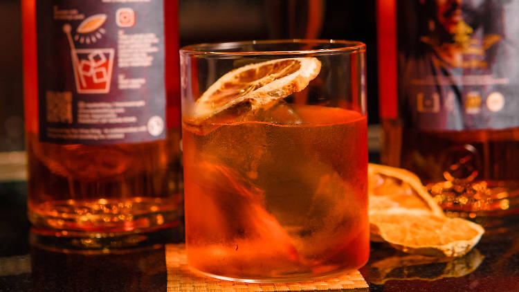 The wise king negroni