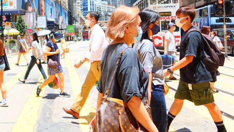 HK pedestrian