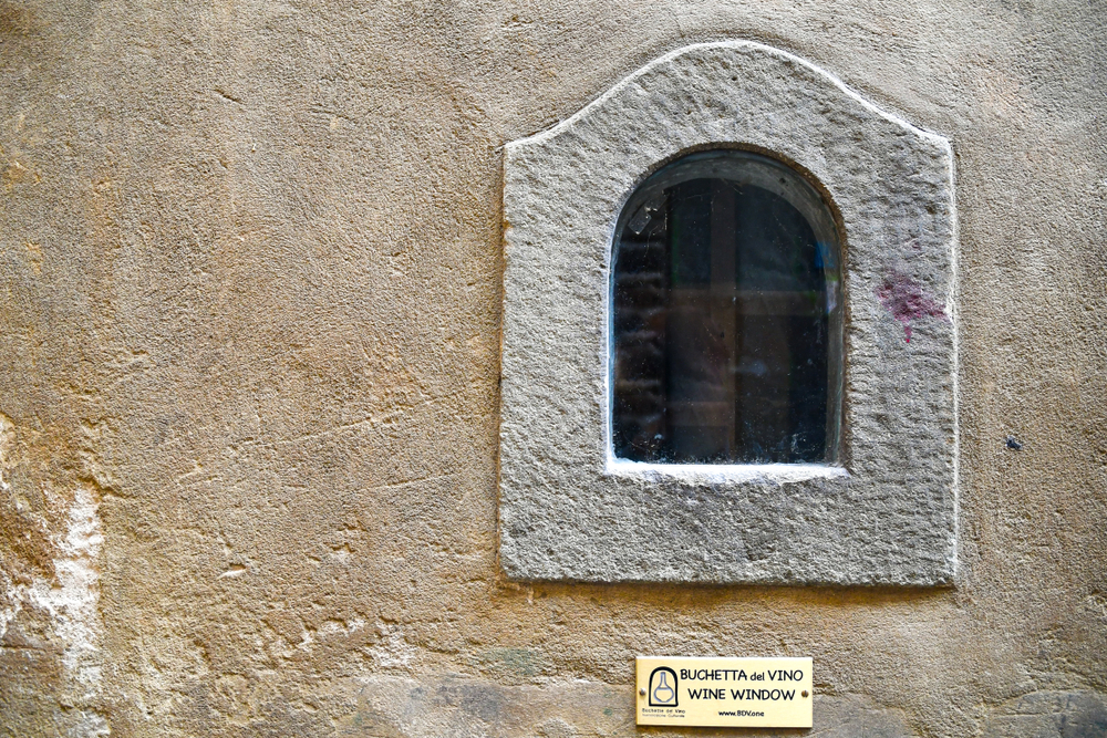 Italy's medieval wine windows are being used again to serve contact-free drinks and gelato