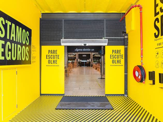 Time Out Market Lisboa, Restaurantes, Foodcourt, Entrada