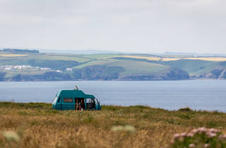 Campervan in UK