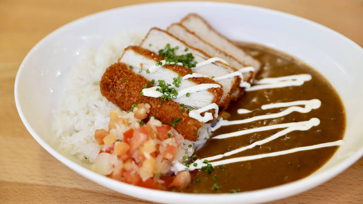 Champion's Curry, Champion curry, curry, katsu curry, Japanese curry, Little Tokyo, Japanese, Japanese food, fish katsu