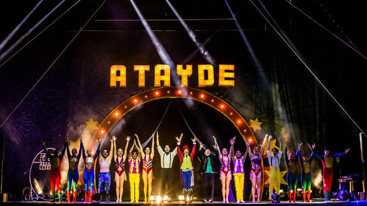 Artists de circo atayde hermanos