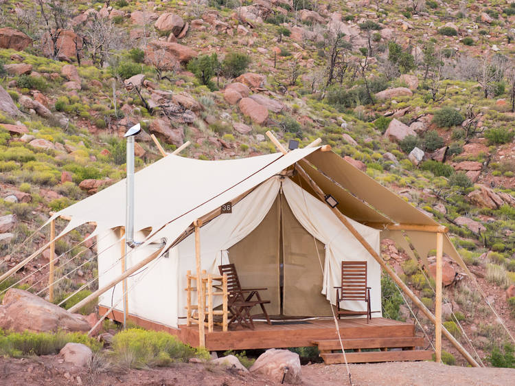 Various locations: Under Canvas