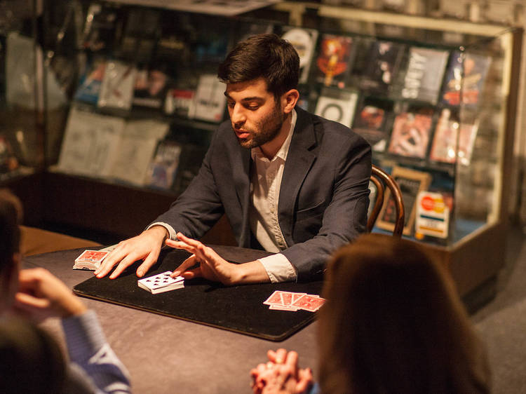 Atlas Obscura: Backstage with a Magician