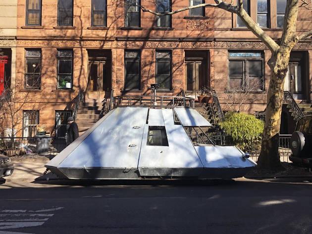 Spaceship tank