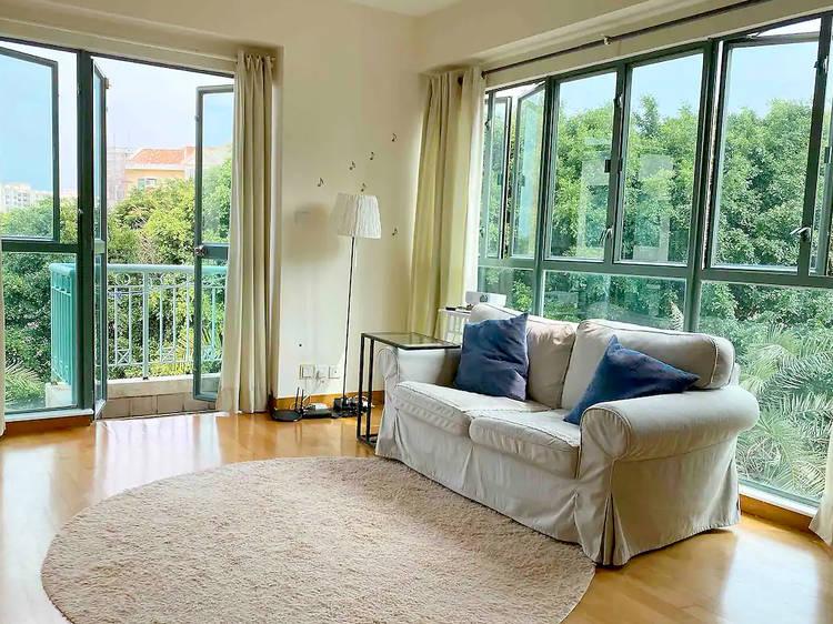 Peaceful Lantau Island apartment with a green view balcony