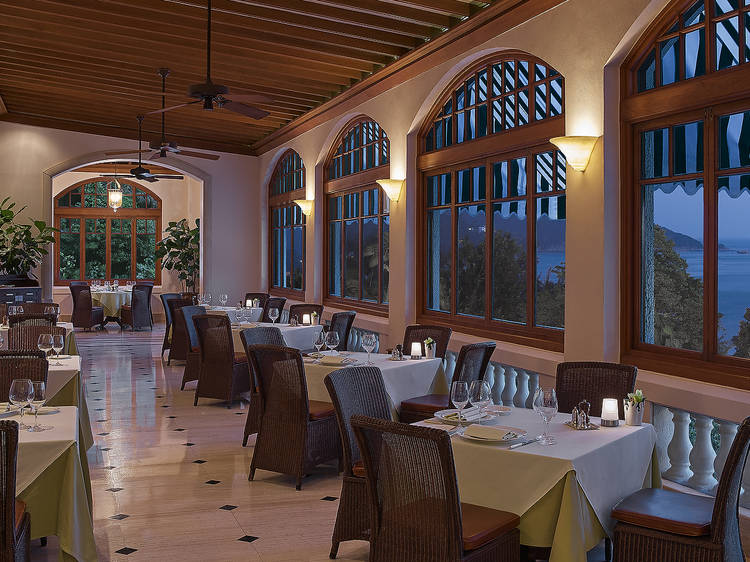 露台餐廳:優雅古典