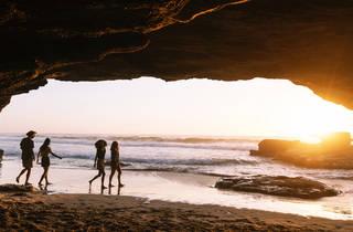 Caves Beach, Lake Macquarie at sunset