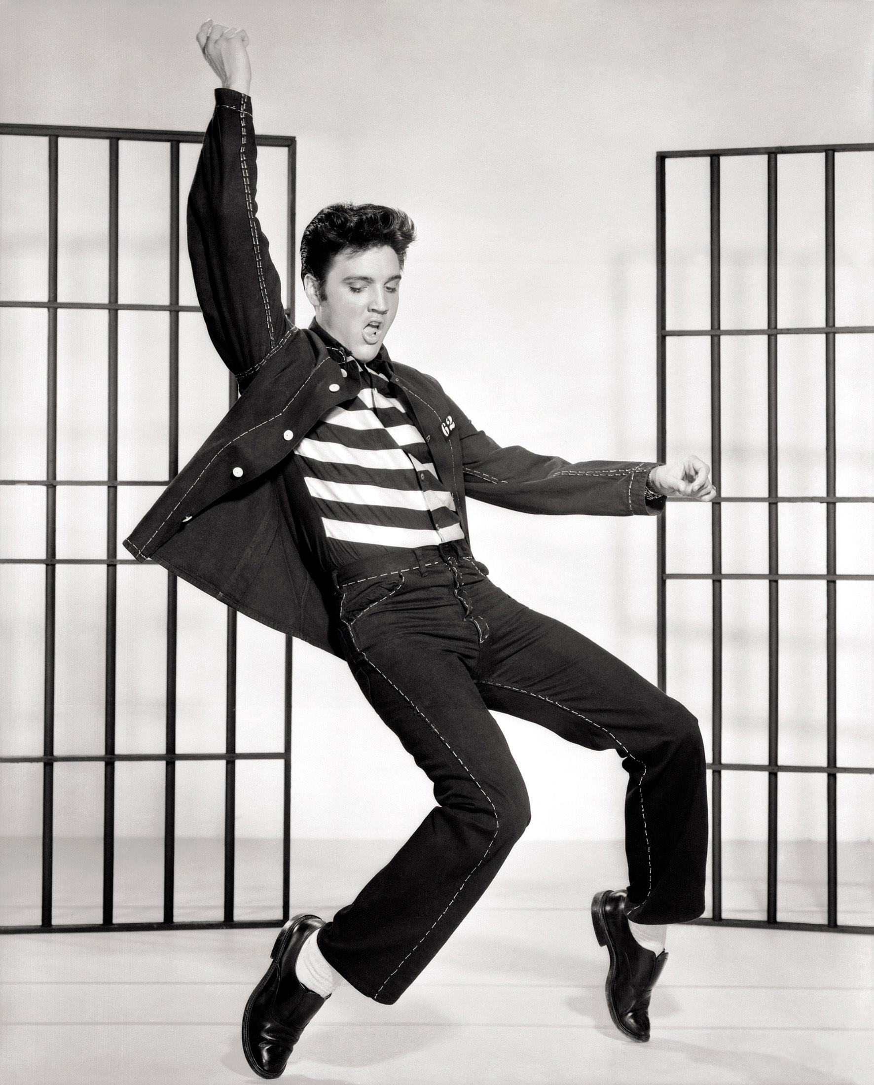 Elvis Presley in Jail House Rock