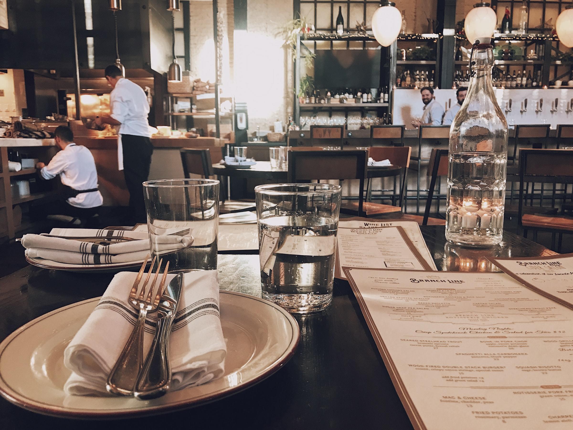 Generic restaurant dining room