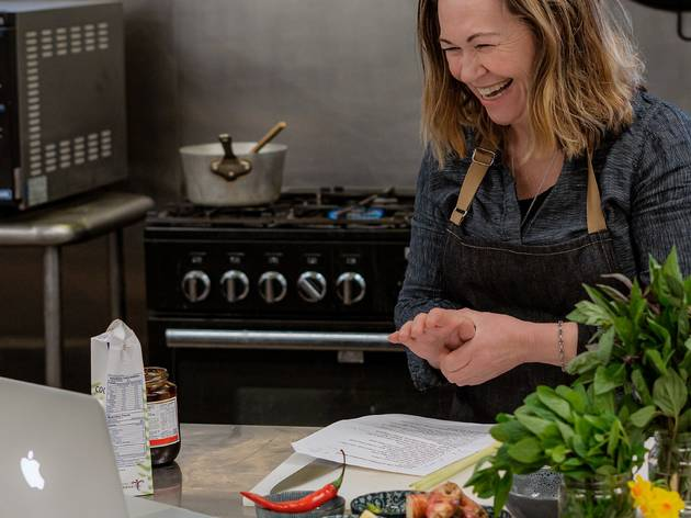 Sarah Lynch's Big House Cooking class
