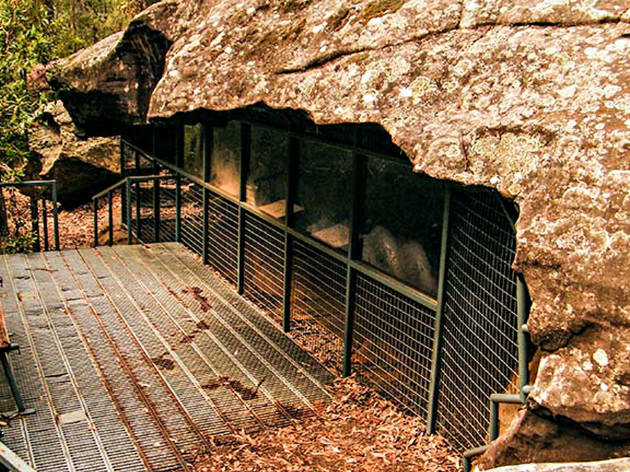 Red Hands Cave Blue Mountains