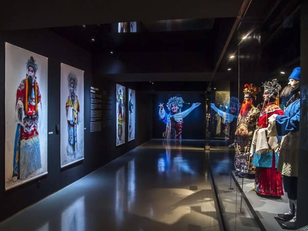 exposição ópera chinesa