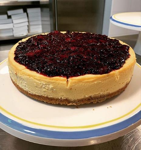 Cheesecake de The Cake Man Bakery