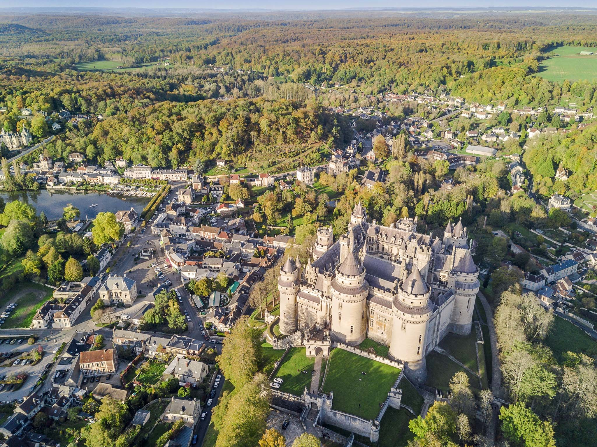 Chateau in Pierrefonds, France