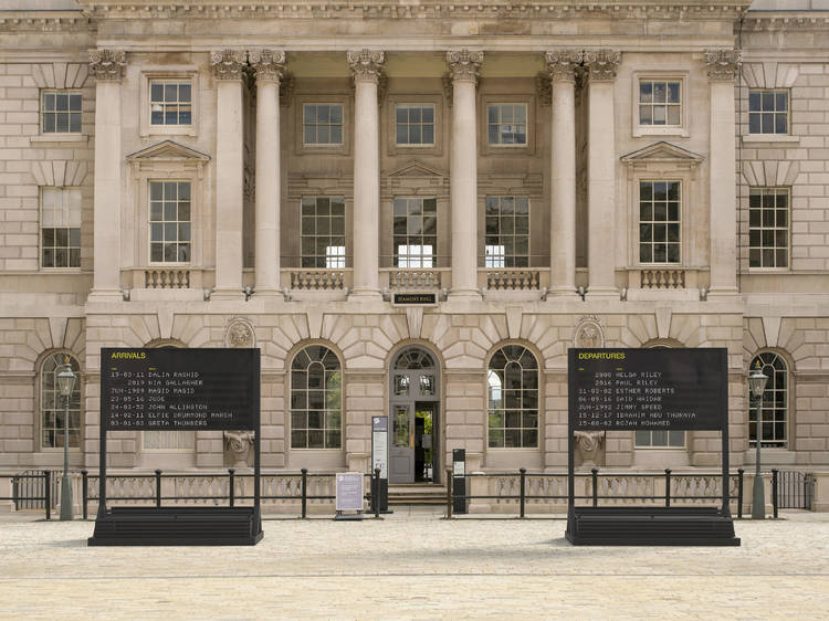 See outdoor attractions at Somerset House