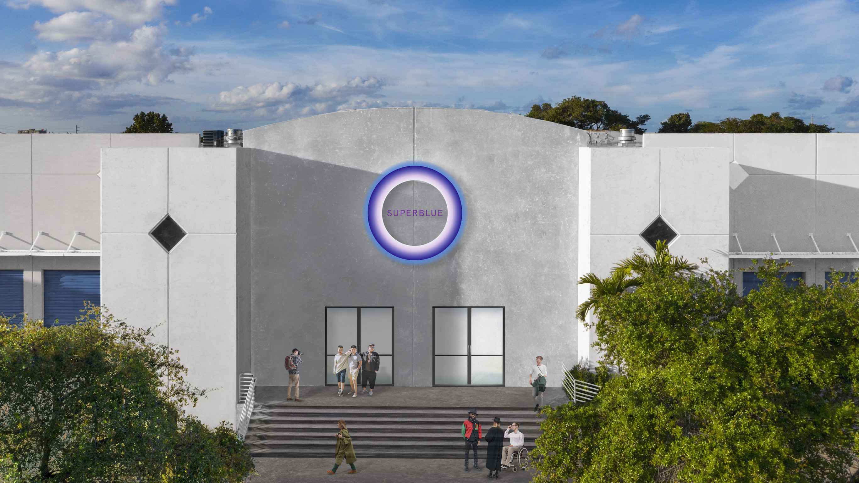 Miami's massive, new experiential art destination reveals its opening date and debut exhibition