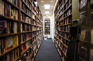 Avenue Bookstore (Photograph: Parker Blain)