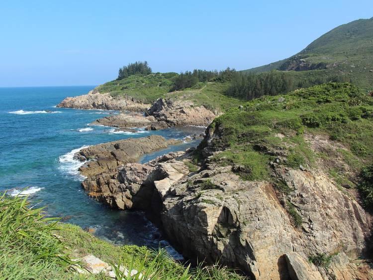 東龍洲:攀岩樂園