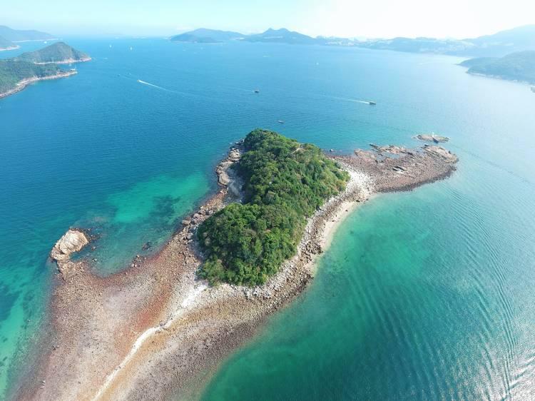 橋咀島:連島沙洲