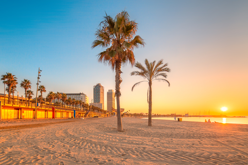 Platja del Somorrostro Barceloneta