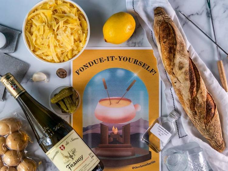 The Cheese Bar, Fondue-it-Yourself