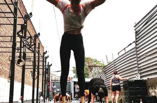 BK Fit Studios outdoor gym