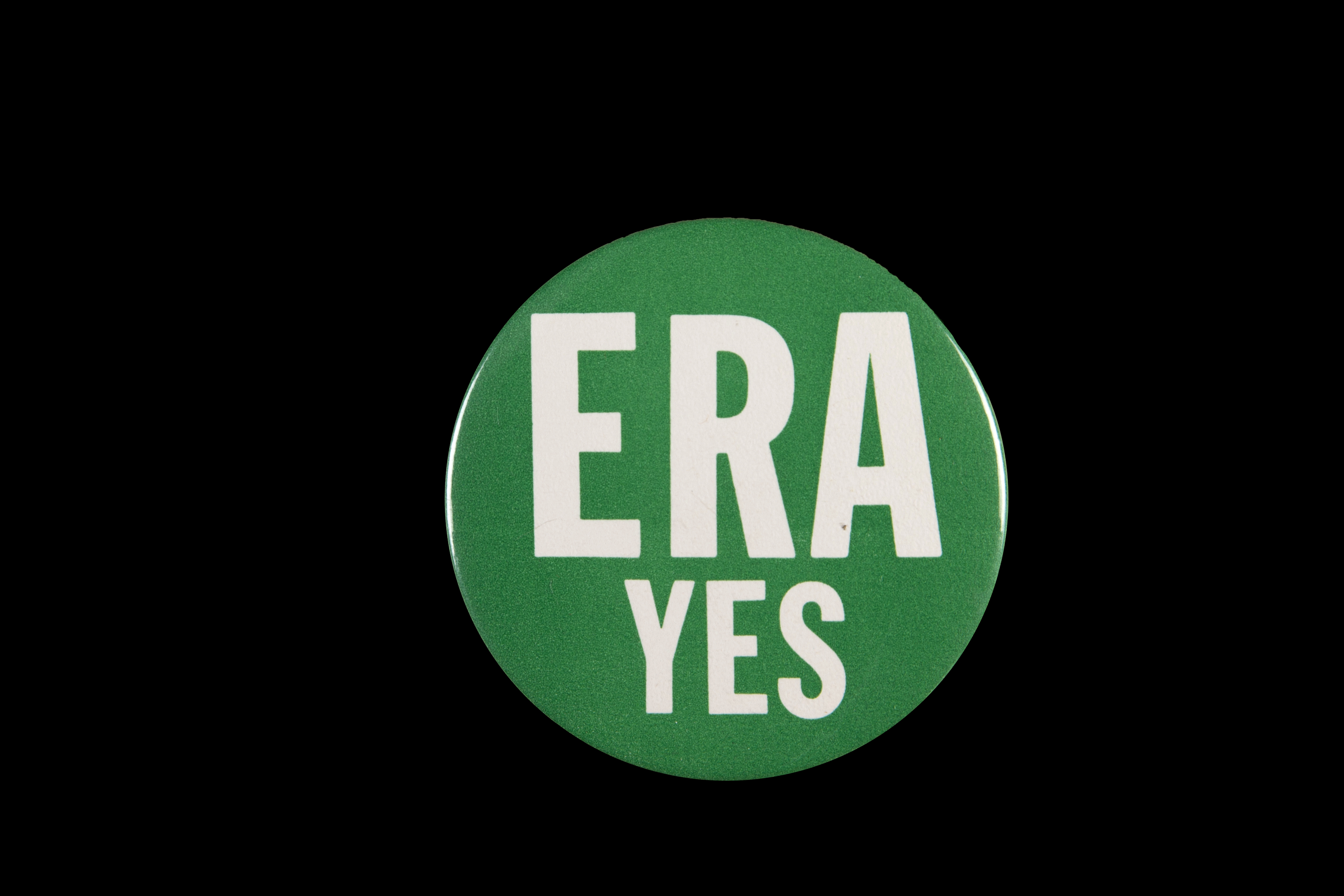 ERA YES button, 1970s-1980s