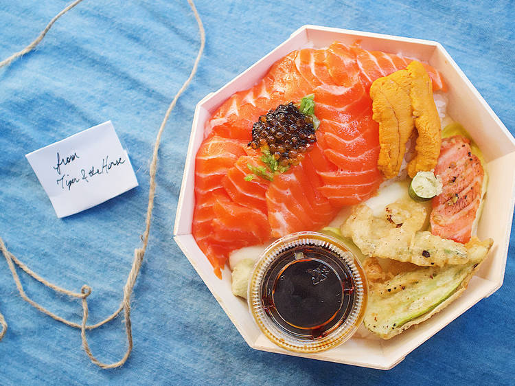 This underground chirashi pop-up is all about sustainable seafood