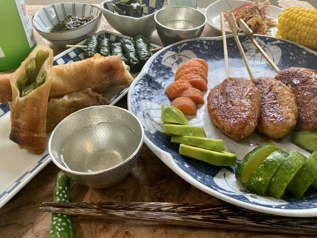 Learn to make vegan Japanese dishes with this online English-language cooking class