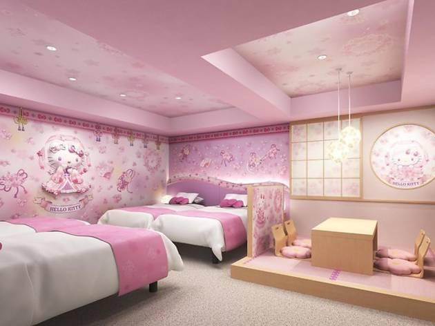 Hello Kitty hotel Tobu hotel