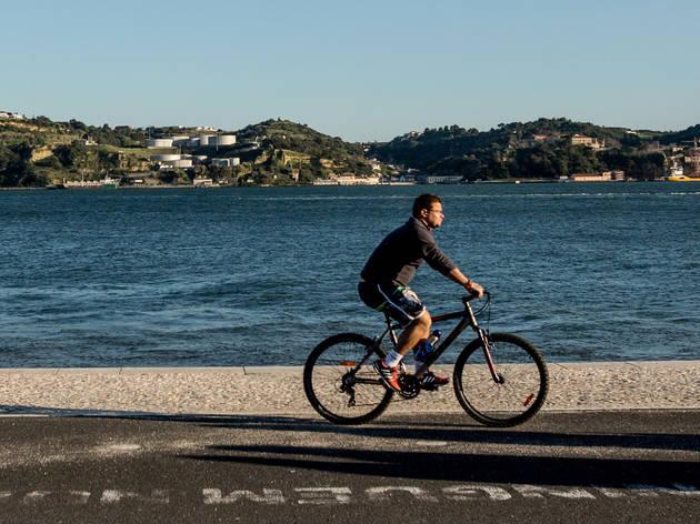 passeios de bicicleta