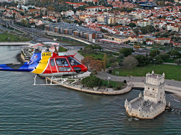 passeios de helicóptero