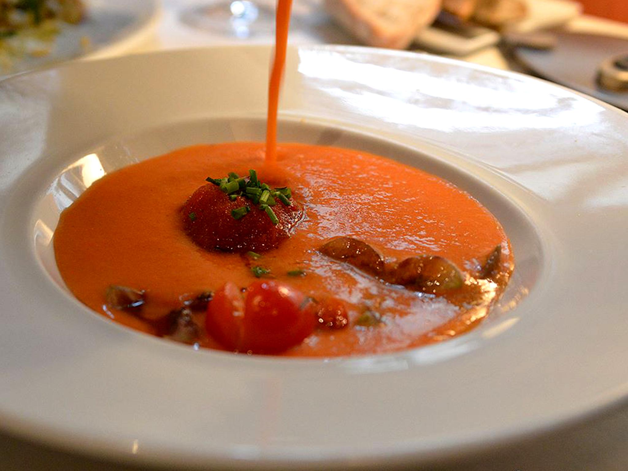 Restaurante, Méson Andaluz, Gaspacho Andaluz