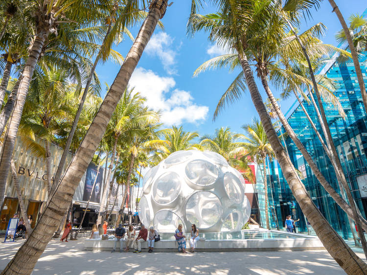 Surround yourself with beautiful things at the Miami Design District