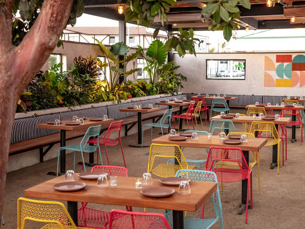 Outdoor dining can now reopen in L.A.—but TVs and separate-household parties aren't allowed