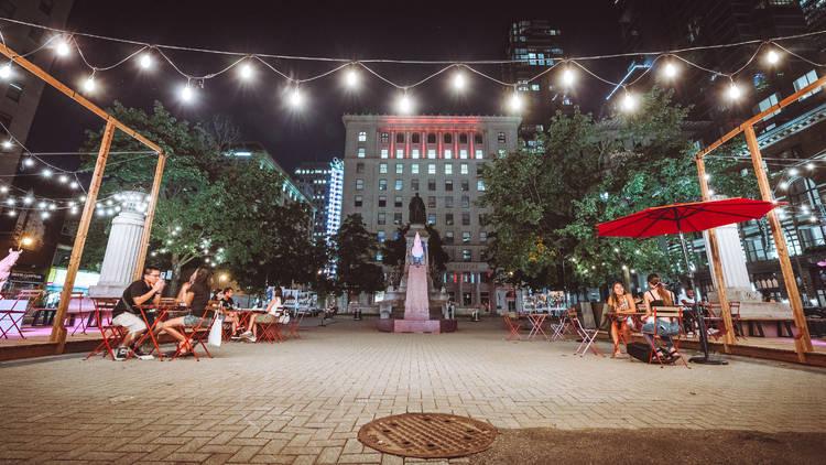 Terrasse, Time Out Market Montréal