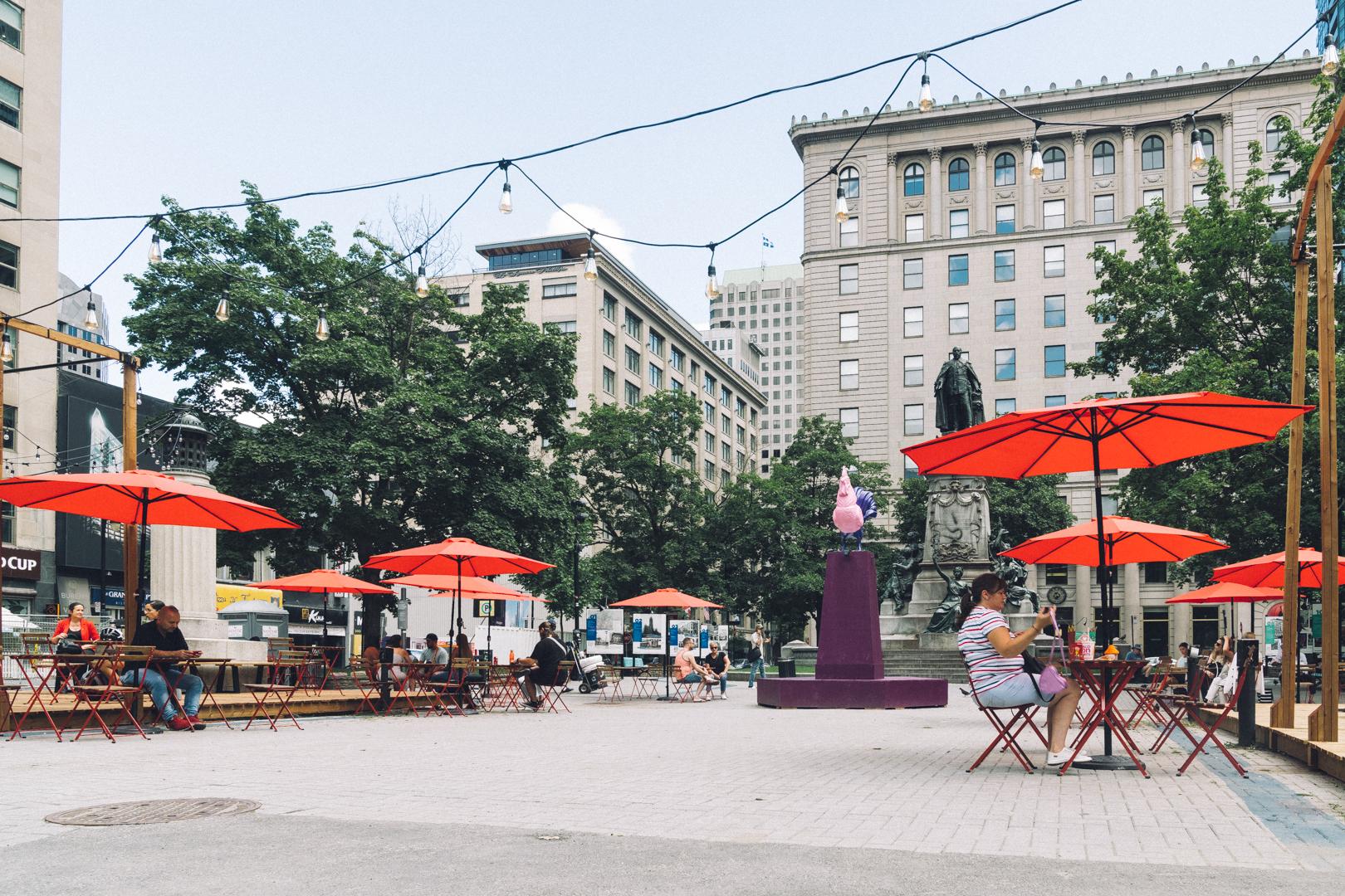 Offrez-vous l'expérience Time Out Market Montréal, sur la nouvelle terrasse en plein cœur du centre-ville
