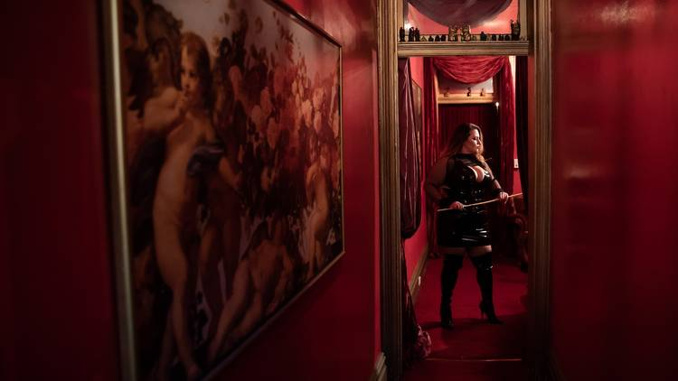 Mistress Lucilla at The Kastle.